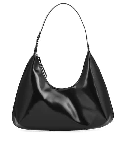 Amber patent leather shoulder bag by By Far, available on mytheresa.com for EUR612 Kendall Jenner Bags SIMILAR PRODUCT