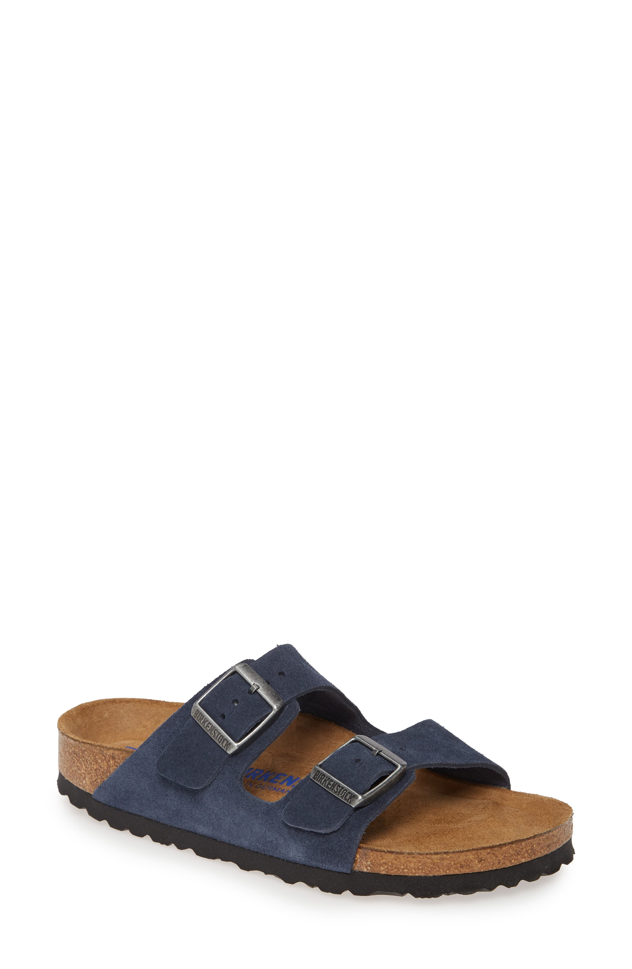 'Arizona' Soft Footbed Suede Sandal by Birkenstock, available on nordstrom.com for $134.95 Kendall Jenner Shoes Exact Product
