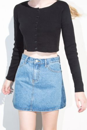 Athelia Knit Top by Brandy Melville, available on brandymelville.com for EUR32 Kendall Jenner Top SIMILAR PRODUCT