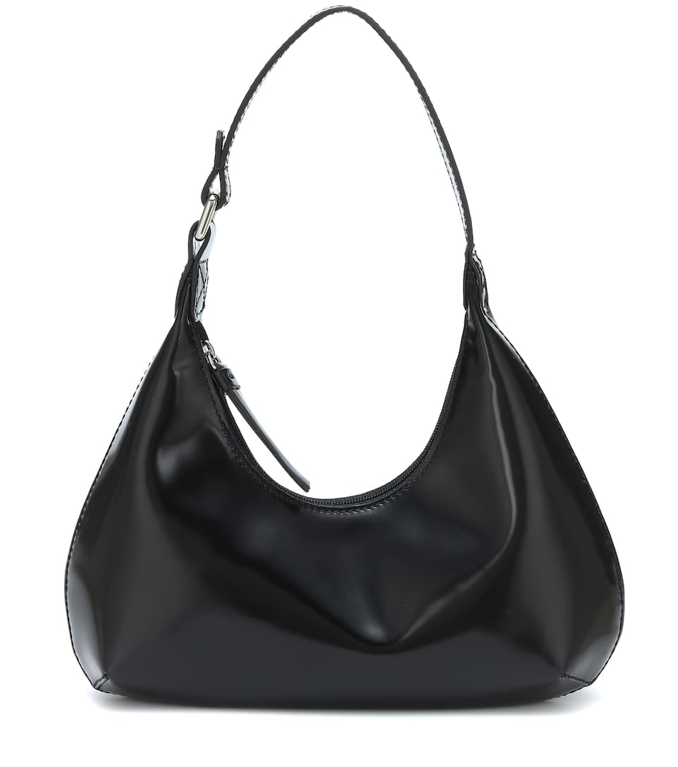 Baby Amber patent leather shoulder bag by Mytheresa, available on mytheresa.com for $523 Kendall Jenner Bags Exact Product