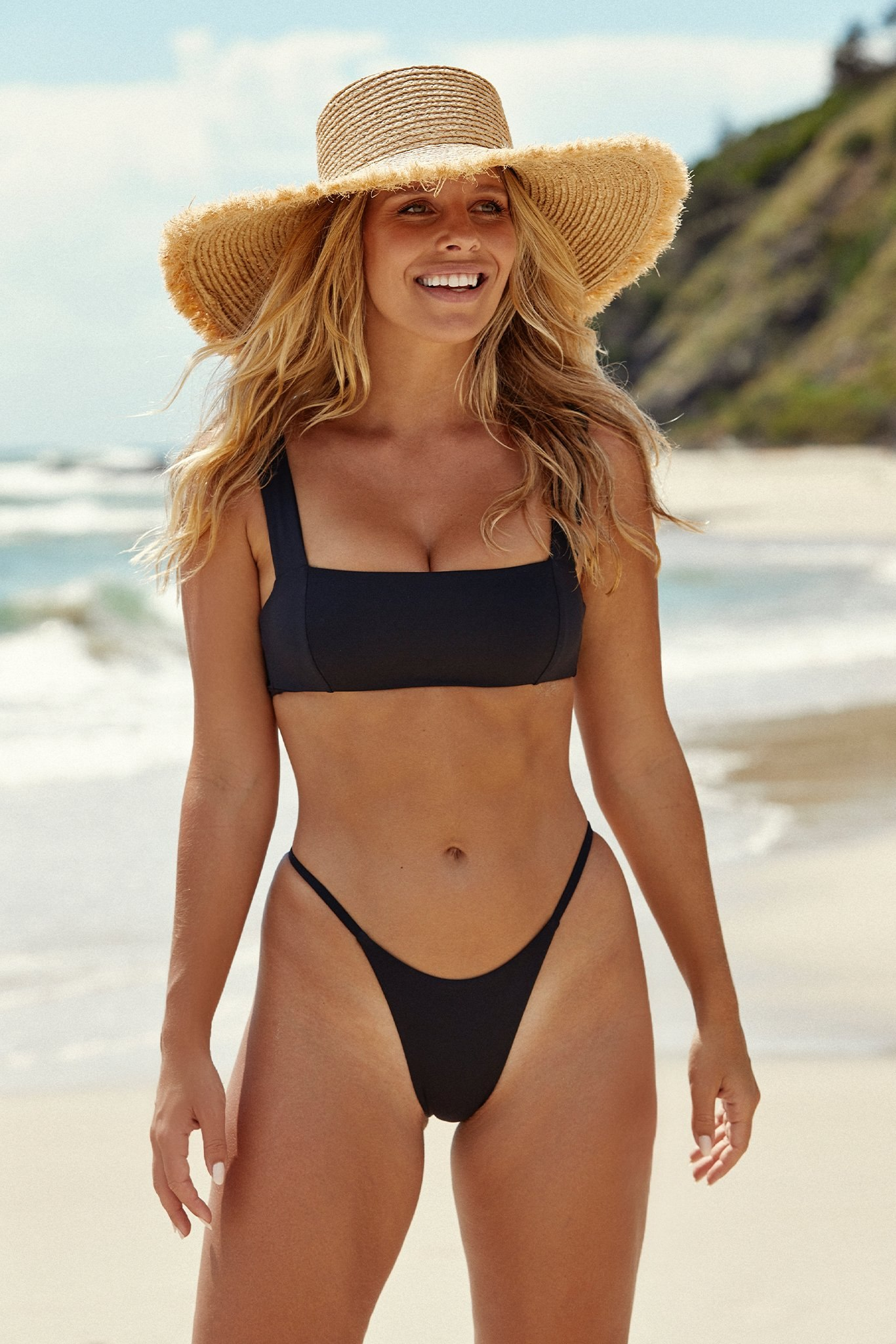 Barbados Bottom by Monday Swimwear, available on mondayswimwear.com for $75 Kendall Jenner Shorts Exact Product