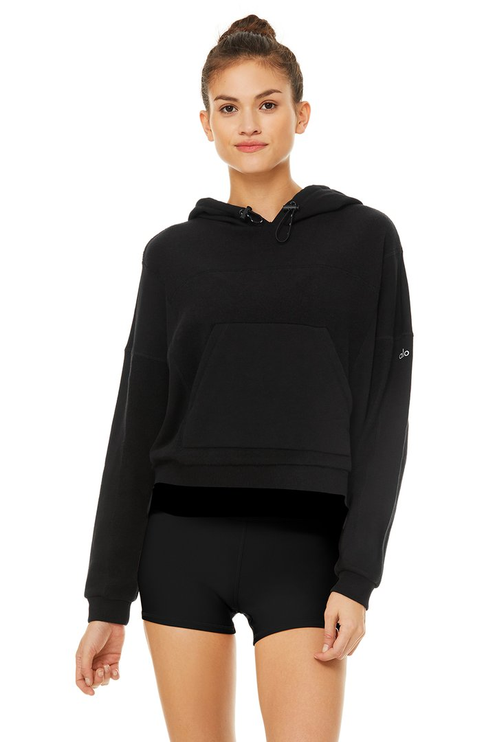 Being Hoodie by Alo Yoga, available on aloyoga.com for $108 Kendall Jenner Top SIMILAR PRODUCT