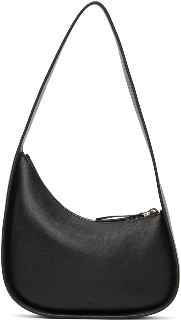 Black Half Moon Bag by The Row, available on ssense.com for $1100 Kendall Jenner Bags Exact Product