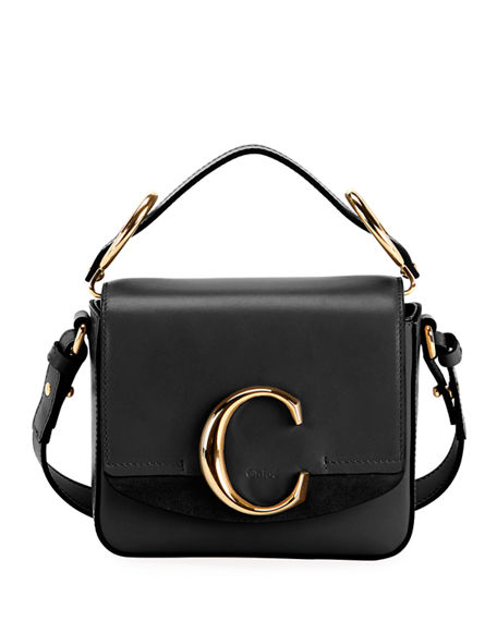 C Mini Shiny Leather Shoulder Bag by Chloe, available on neimanmarcus.com for $1450 Kendall Jenner Bags Exact Product