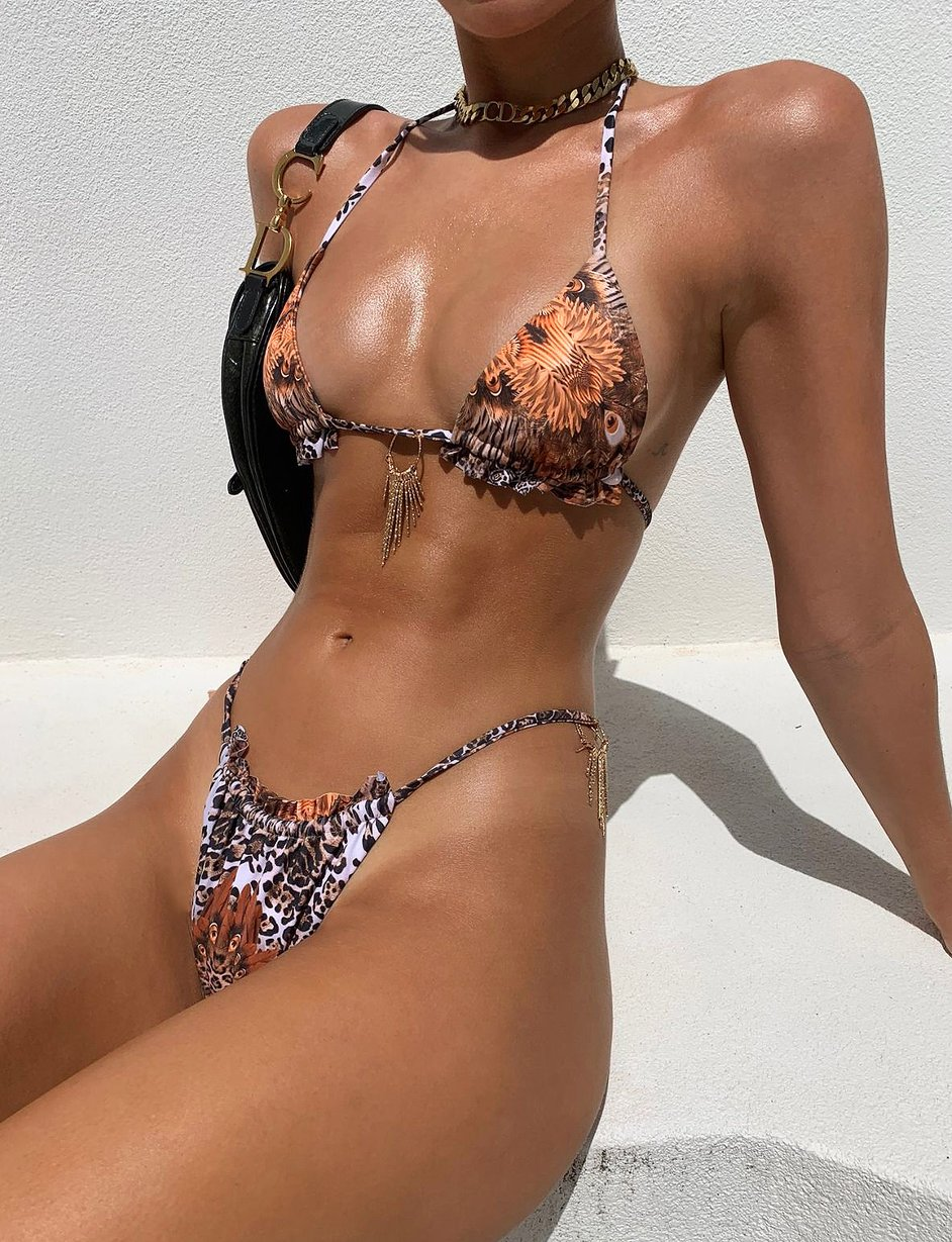 CIANA BIKINI TOP by Tiger Mist, available on tigermist.com.au for $30.95 Kendall Jenner Top Exact Product