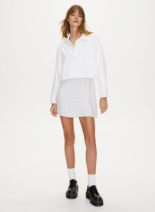 CROPPED FLEECE POLO by Sunday Best, available on aritzia.com Kendall Jenner Top SIMILAR PRODUCT