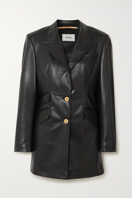 Cancun Vegan Leather Blazer - Black by Nanushka, available on shopstyle.com for $585 Kendall Jenner Outerwear SIMILAR PRODUCT