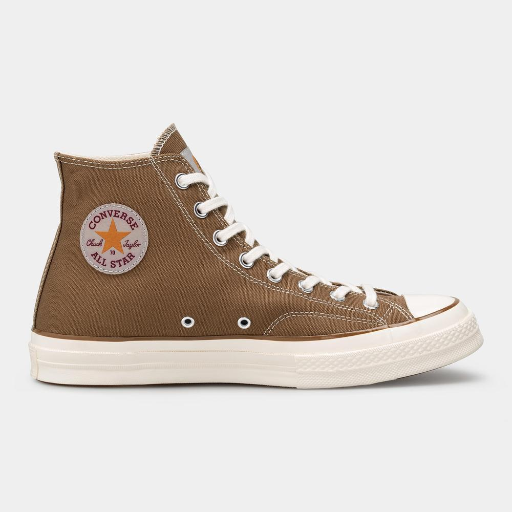 Carhartt WIP x Converse Chuck 70 Hi ICONS by Converse, available on carhartt-wip.com for $115 Kendall Jenner Shoes Exact Product