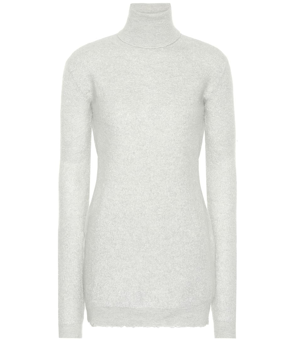 Cashmere turtleneck sweater by Unravel, available on mytheresa.com for $651 Kendall Jenner Top Exact Product