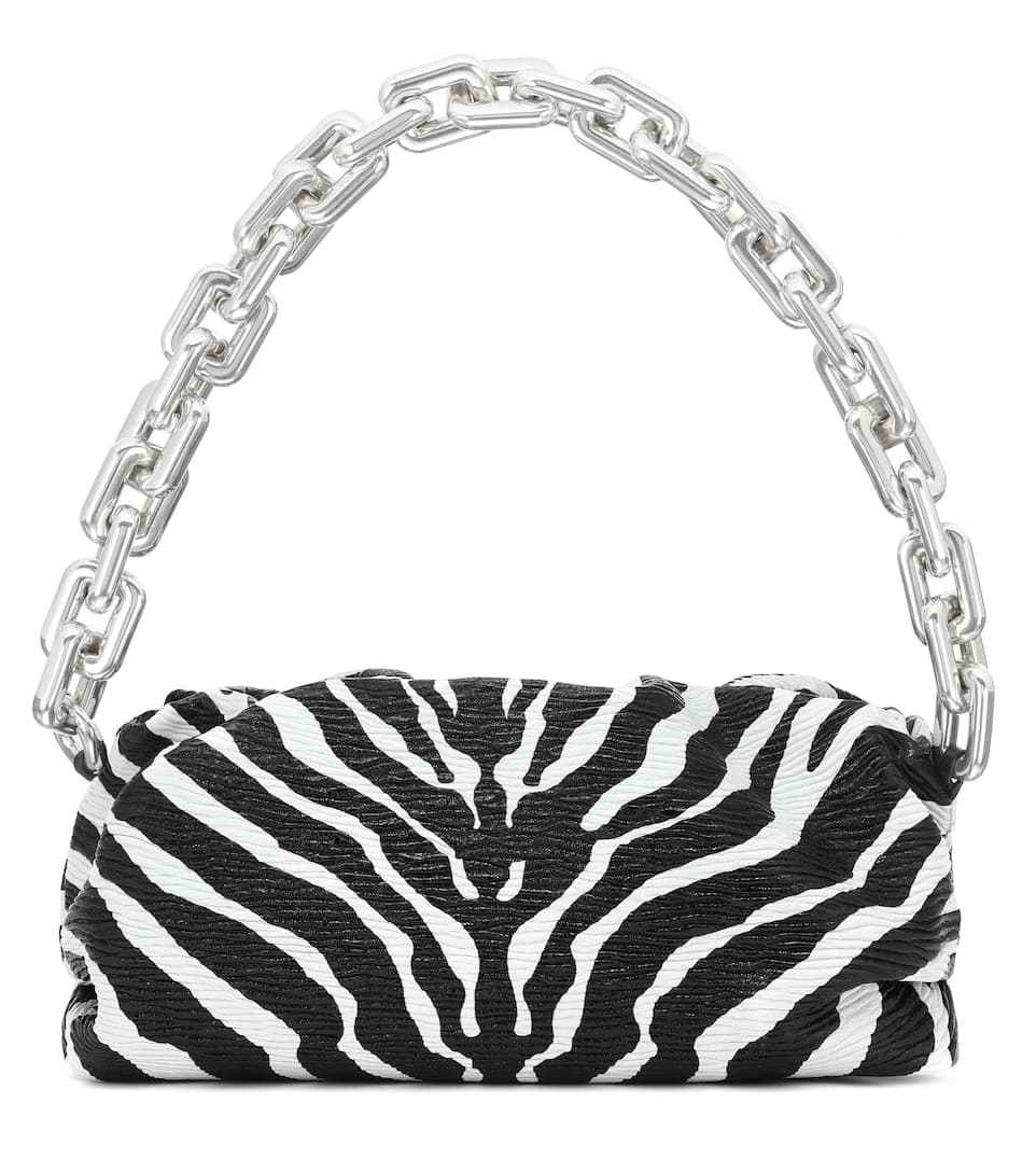 Chain Pouch leather shoulder bag by BOTTEGA VENETA, available on mytheresa.com for $3800 Kendall Jenner Bags Exact Product