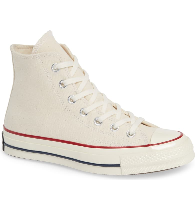 Chuck Taylor All Star High Top in Parchment by Converse, available on nordstrom.com for $85 Kendall Jenner Shoes Exact Product