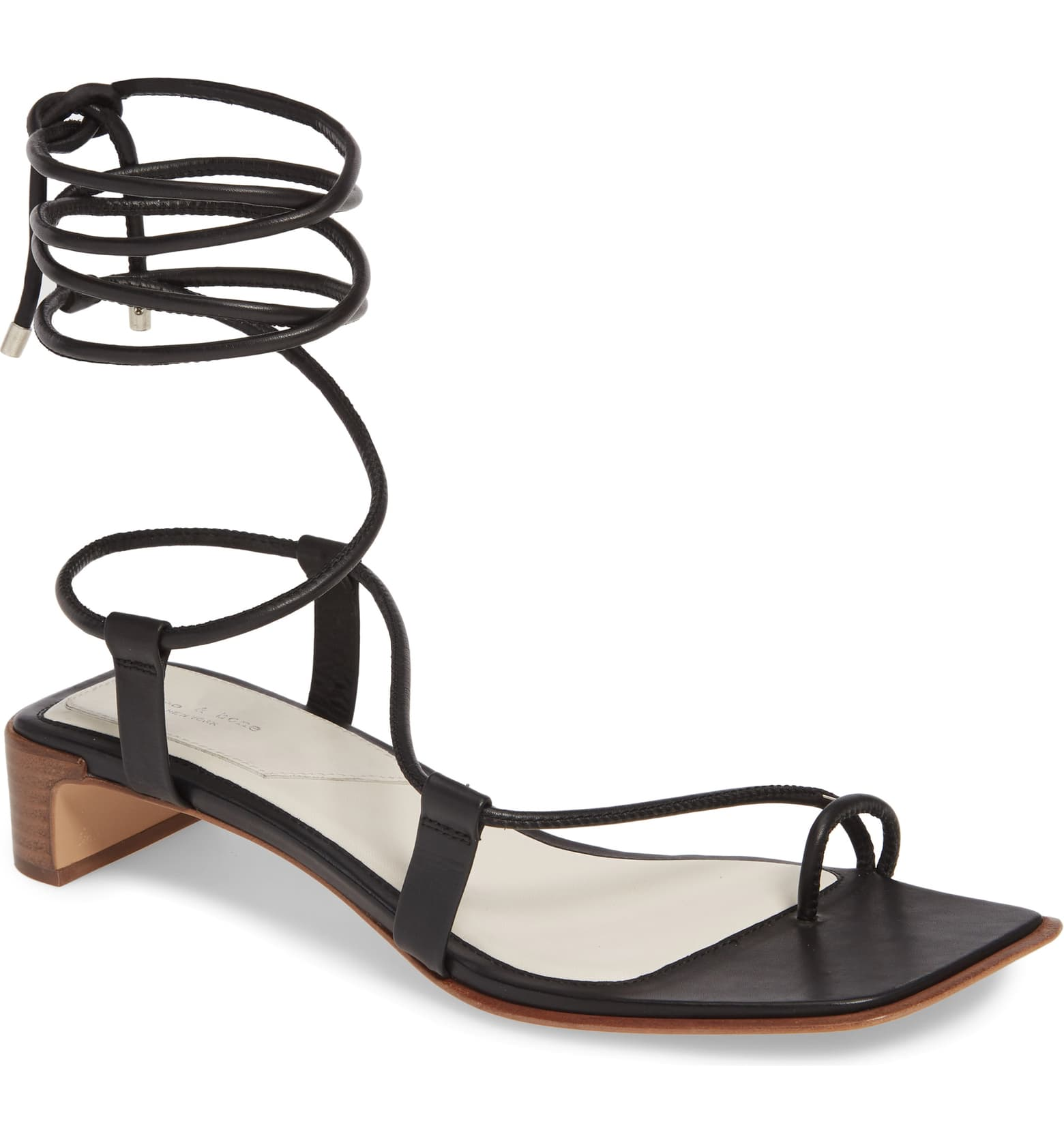 Cindy Lace-Up Sandal by Rag & Bone, available on nordstrom.com for $395 Kendall Jenner Shoes Exact Product