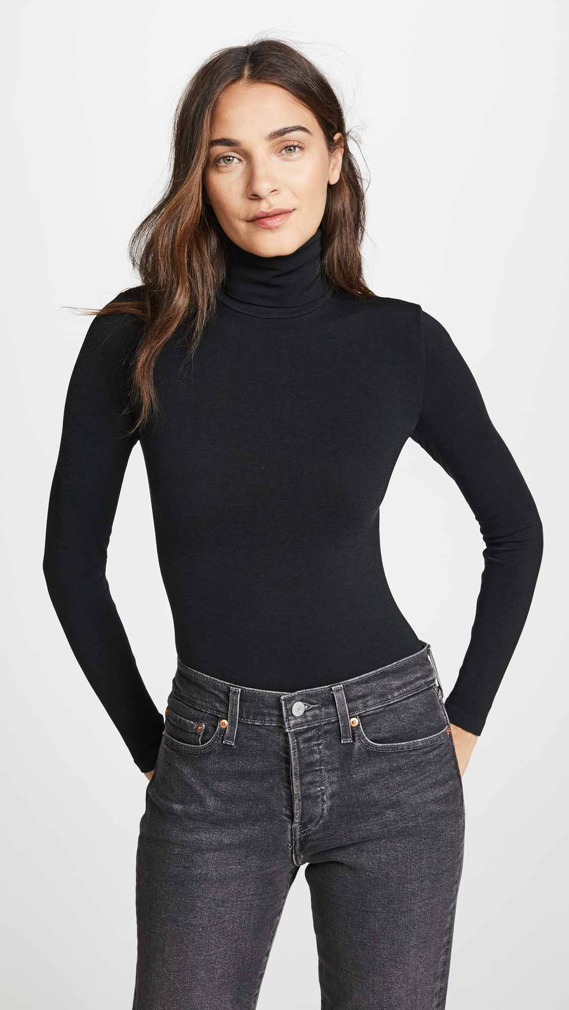Colorado String Bodysuit by Wolford, available on shopbop.com for $250 Kendall Jenner Top Exact Product
