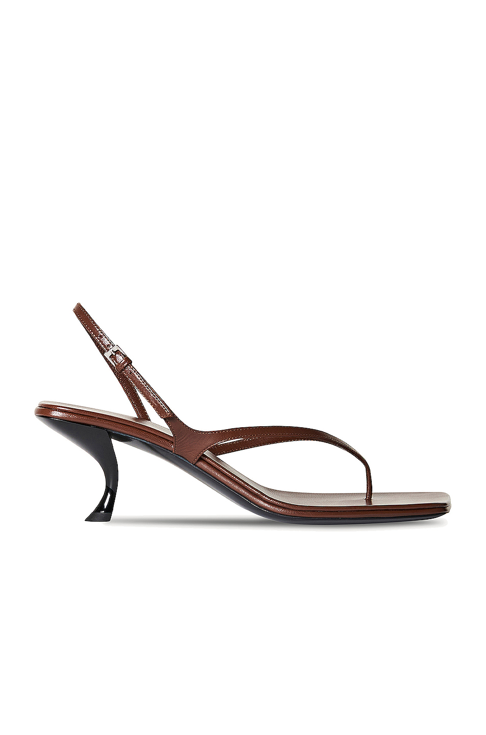 Constance Leather Sandals by The Row, available on fwrd.com for $850 Kendall Jenner Shoes Exact Product
