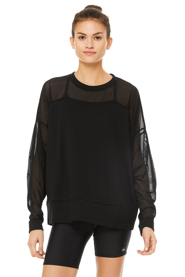 Contoured Pullover by Alo Yoga, available on aloyoga.com for $118 Kendall Jenner Top SIMILAR PRODUCT