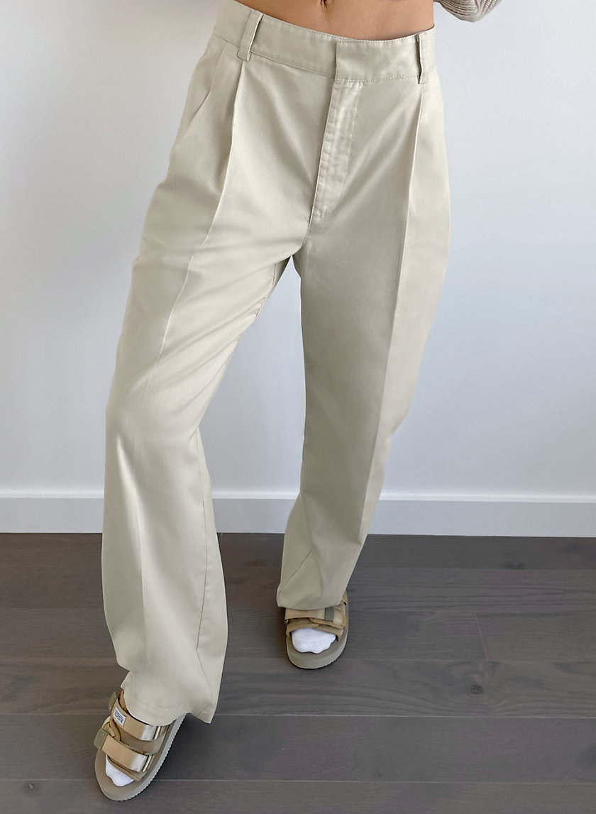Crawford Pant by Aritzia, available on aritzia.com for $98 Kendall Jenner Pants Exact Product