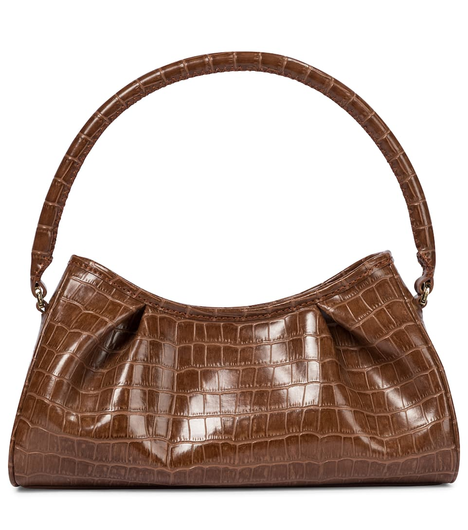 Dimple croc-effect leather shoulder bag by ELLEME, available on mytheresa.com for EUR415 Kendall Jenner Bags Exact Product