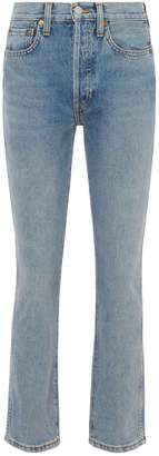 Double Needle Crop Jeans by RE/DONE, available on shopstyle.com for $179 Kendall Jenner Pants Exact Product