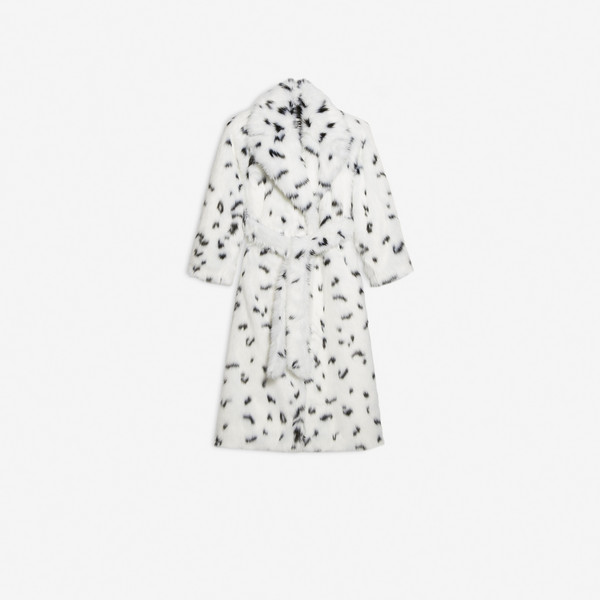 Dynasty Wrap Coat  White by Balenciaga, available on balenciaga.com for $5090 Kendall Jenner Outerwear SIMILAR PRODUCT