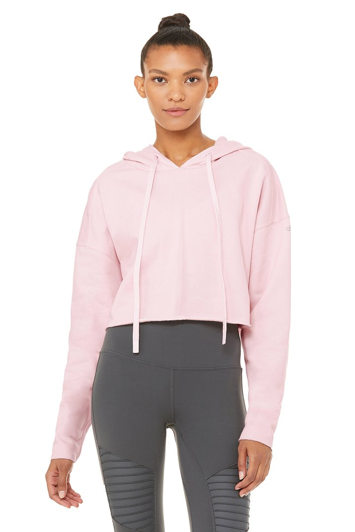 Edge Hoodie by Alo Yoga, available on aloyoga.com for $108 Kendall Jenner Outerwear SIMILAR PRODUCT