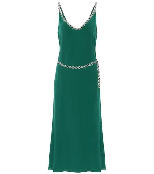 Embellished silk-blend crêpe dress by Christopher Kane, available on mytheresa.com for EUR1095 Kendall Jenner Dress SIMILAR PRODUCT