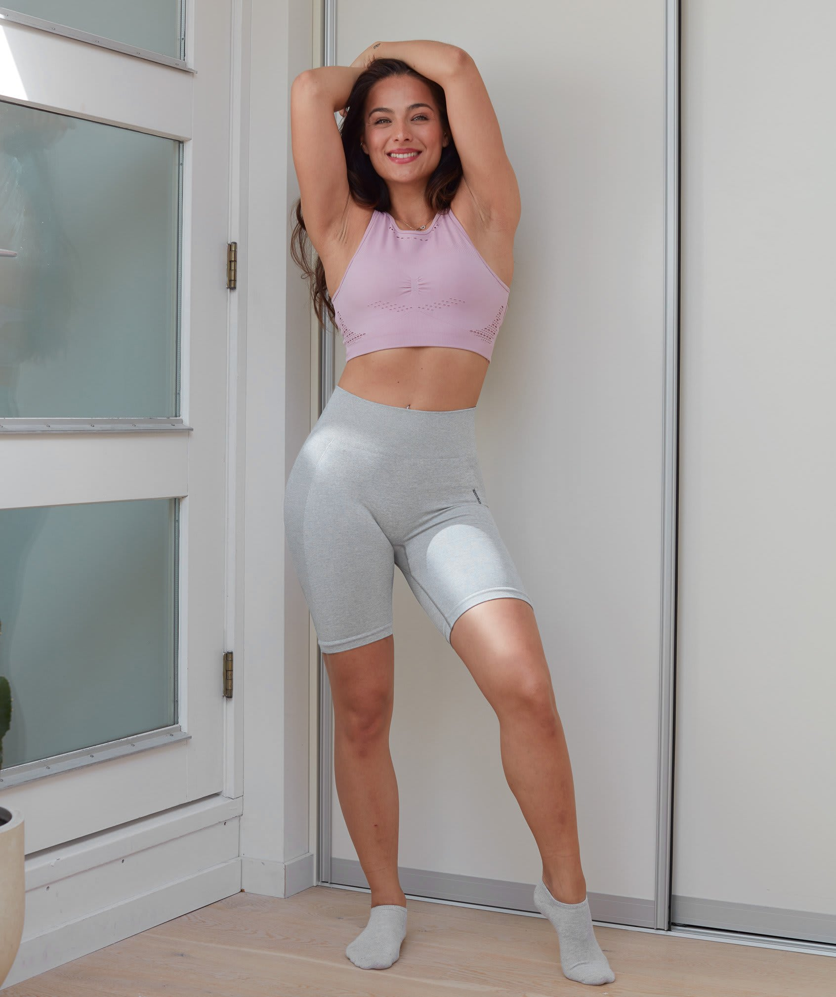 FLEX CYCLING SHORTS by Gymshark, available on gymshark.com for $45 Kendall Jenner Shorts Exact Product