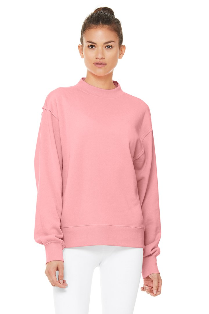 Freestyle Sweatshirt by Alo Yoga, available on aloyoga.com for $108 Kendall Jenner Outerwear SIMILAR PRODUCT