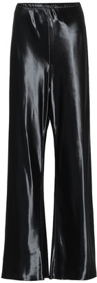 Gala wide-leg satin pants by The Row, available on shopstyle.com for $1150 Kendall Jenner Pants SIMILAR PRODUCT