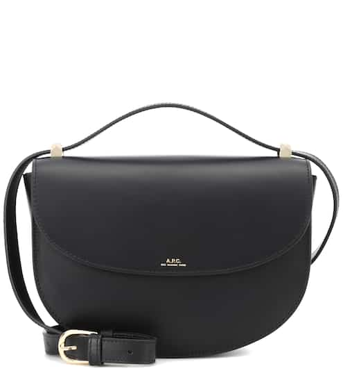 Genève leather shoulder bag by A.P.C., available on mytheresa.com for $595 Kendall Jenner Bags SIMILAR PRODUCT