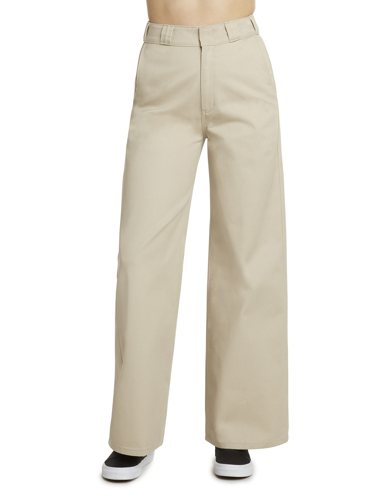 Girl Juniors' Worker Wide Leg Skater Pants by Dickies, available on dickies.com for $69.99 Kendall Jenner Pants Exact Product