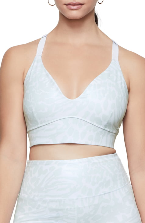 Good American Leopard Foil Bra (Regular & Plus Size), available on nordstrom.com for 45 Kendall Jenner Top SIMILAR PRODUCT
