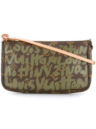 Graffiti Pochette Accesoires Bag by Louis Vuitton, available on farfetch.com Kendall Jenner Bags Exact Product