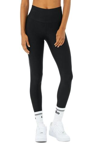 High-Waist Airlift Legging - Black by Alo Yoga, available on aloyoga.com for $118 Kendall Jenner Pants SIMILAR PRODUCT