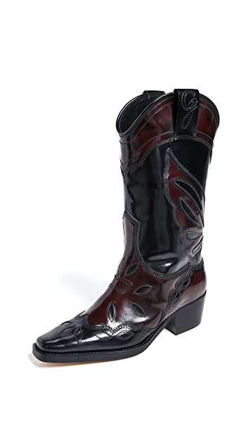 High Texas Boots by GANNI, available on shopbop.com for $585 Kendall Jenner Shoes Exact Product
