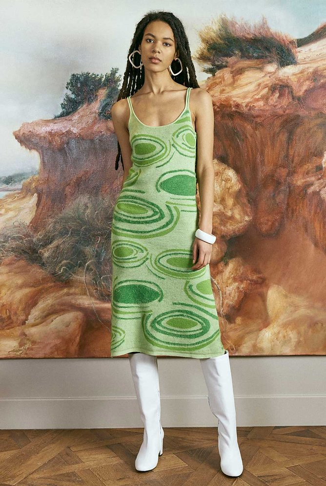 Hockney Dress by House of Sunny, available on houseofsunny.co.uk for £98 Kendall Jenner Dress Exact Product