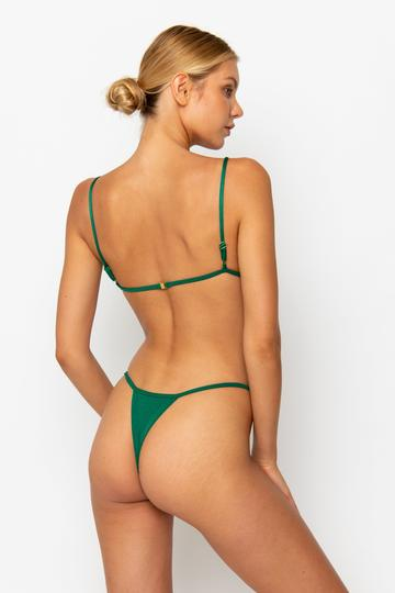 JANE BOTTOM - EMERALD by Sommer Swim, available on sommerswim.com for $39 Kendall Jenner Pants Exact Product