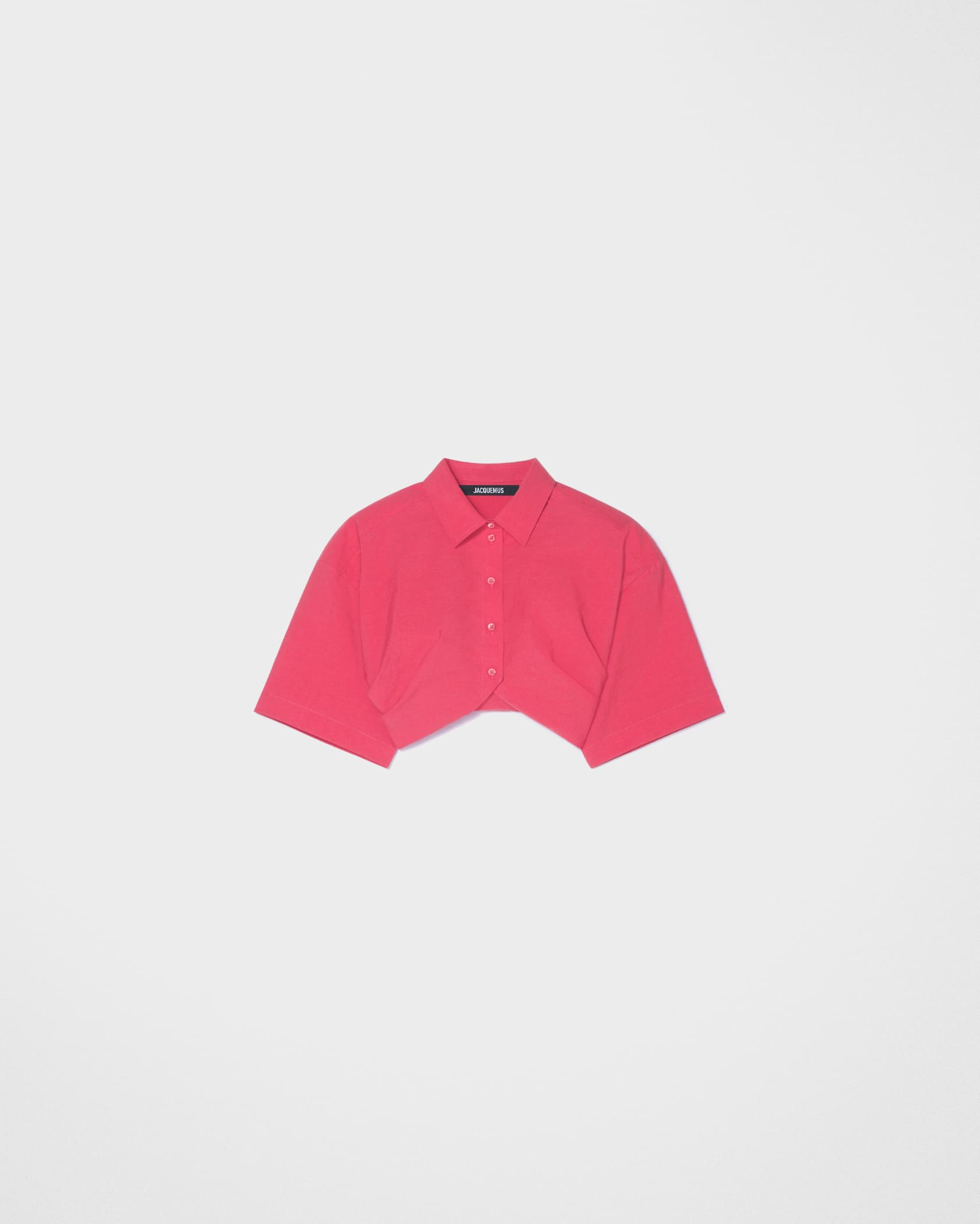 La chemise Ballu by Jacquemus, available on jacquemus.com for $420 Kendall Jenner Outerwear Exact Product