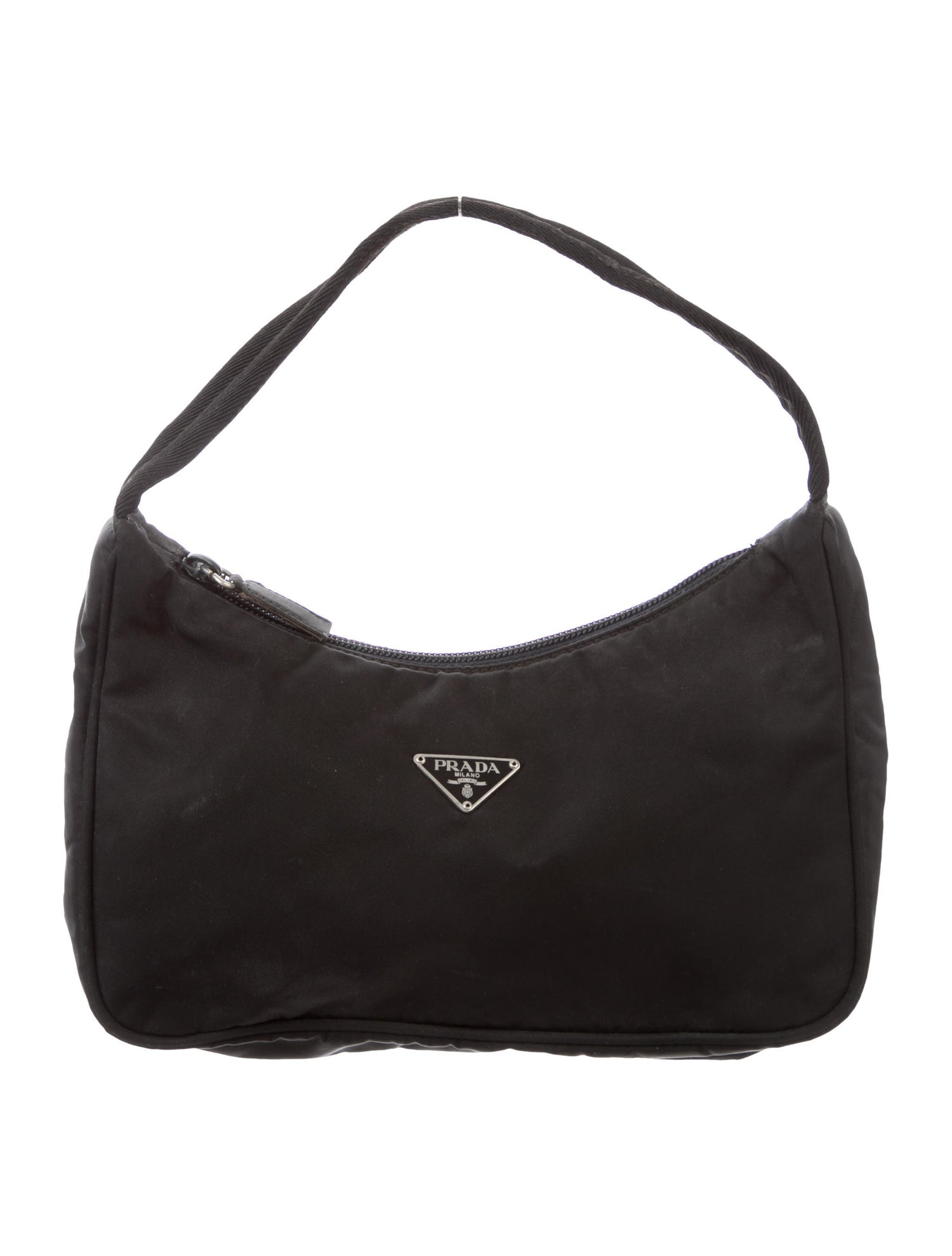 Mini Hobo Bag by Prada, available on therealreal.com for $475 Kendall Jenner Bags Exact Product