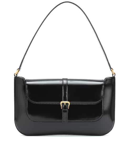 Miranda patent leather shoulder bag by By Far, available on mytheresa.com for EUR633 Kendall Jenner Bags SIMILAR PRODUCT