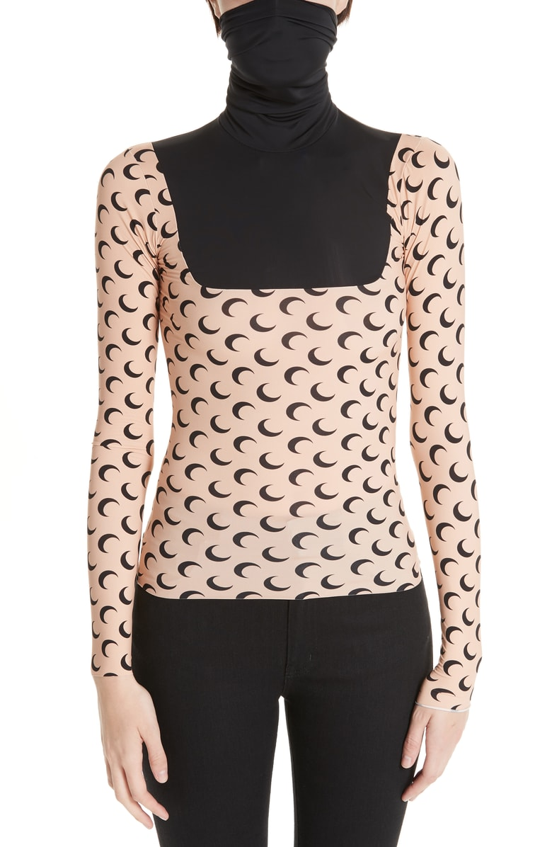 Moon Print Knit Top by Marine Serre, available on nordstrom.com Kendall Jenner Top Exact Product