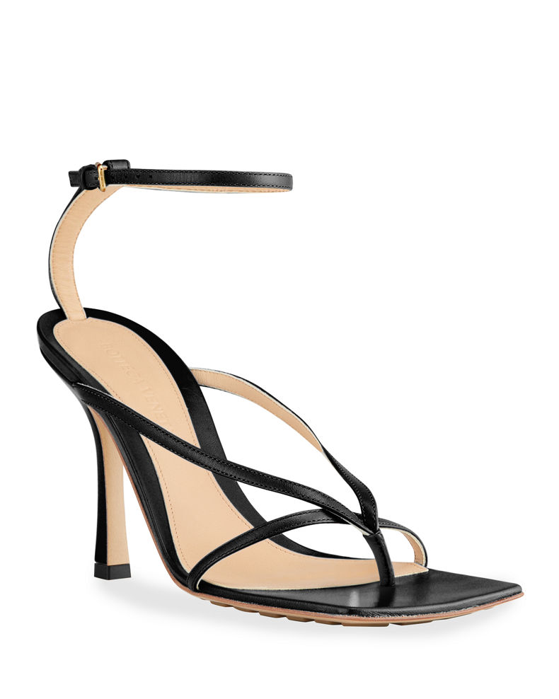 Multi Strap Stretch Sandals by Bottega Veneta, available on neimanmarcus.com for $890 Kendall Jenner Shoes Exact Product
