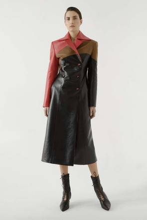 Multi leather coat by Materiel Tbilisi, available on materieltbilisi.com for $567 Kendall Jenner Outerwear SIMILAR PRODUCT