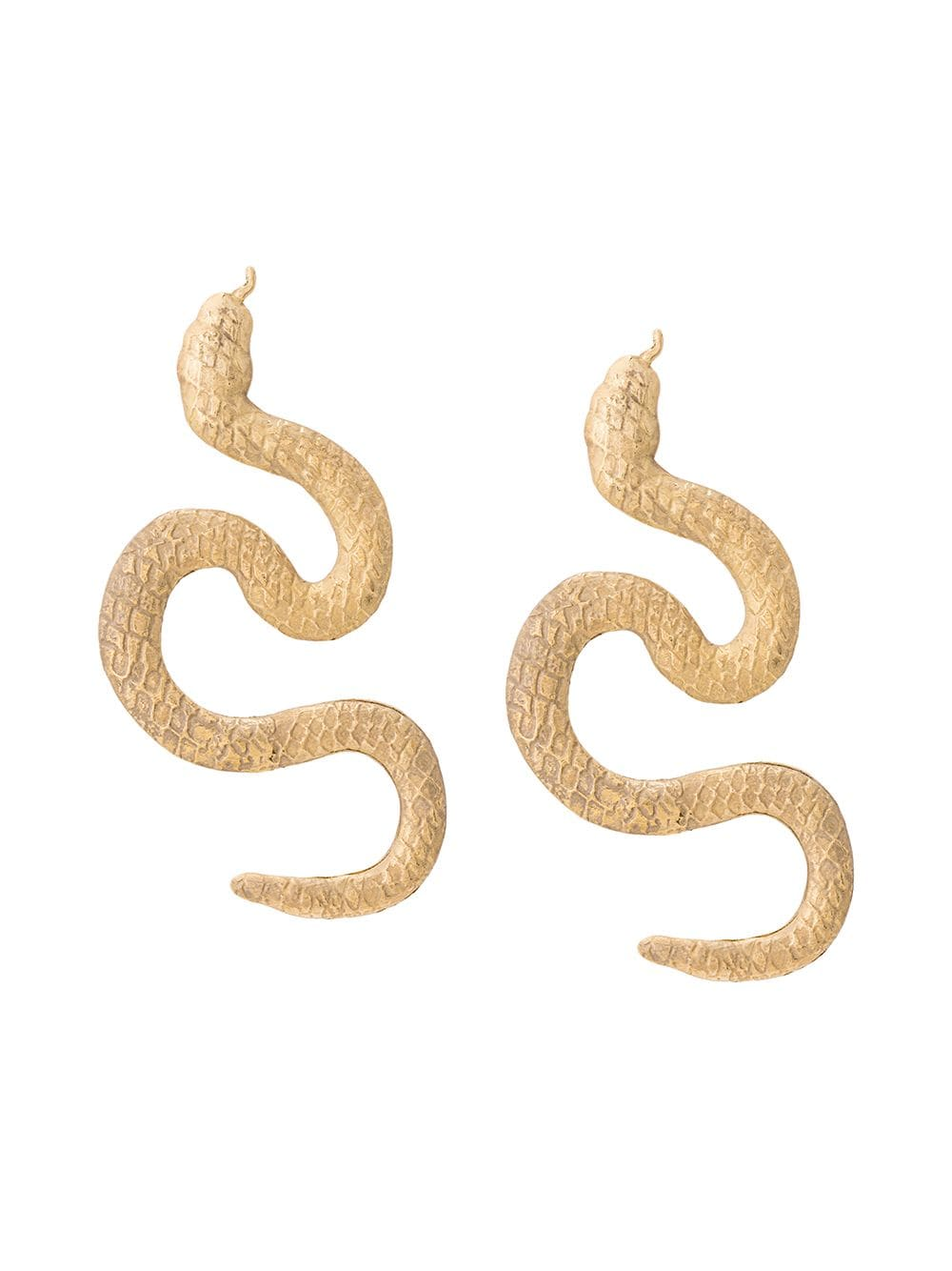 Natia x Lako snake earrings by Natia, available on farfetch.com for $159 Kendall Jenner Jewellery Exact Product