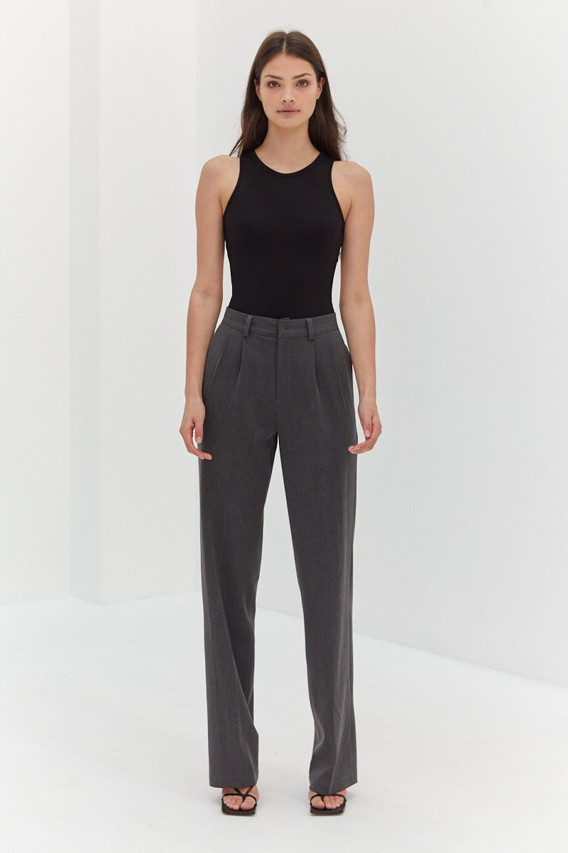 Nicholas Pants - Dark Grey by Style Addict, available on styleaddict.com.au for $112.63 Kendall Jenner Pants Exact Product