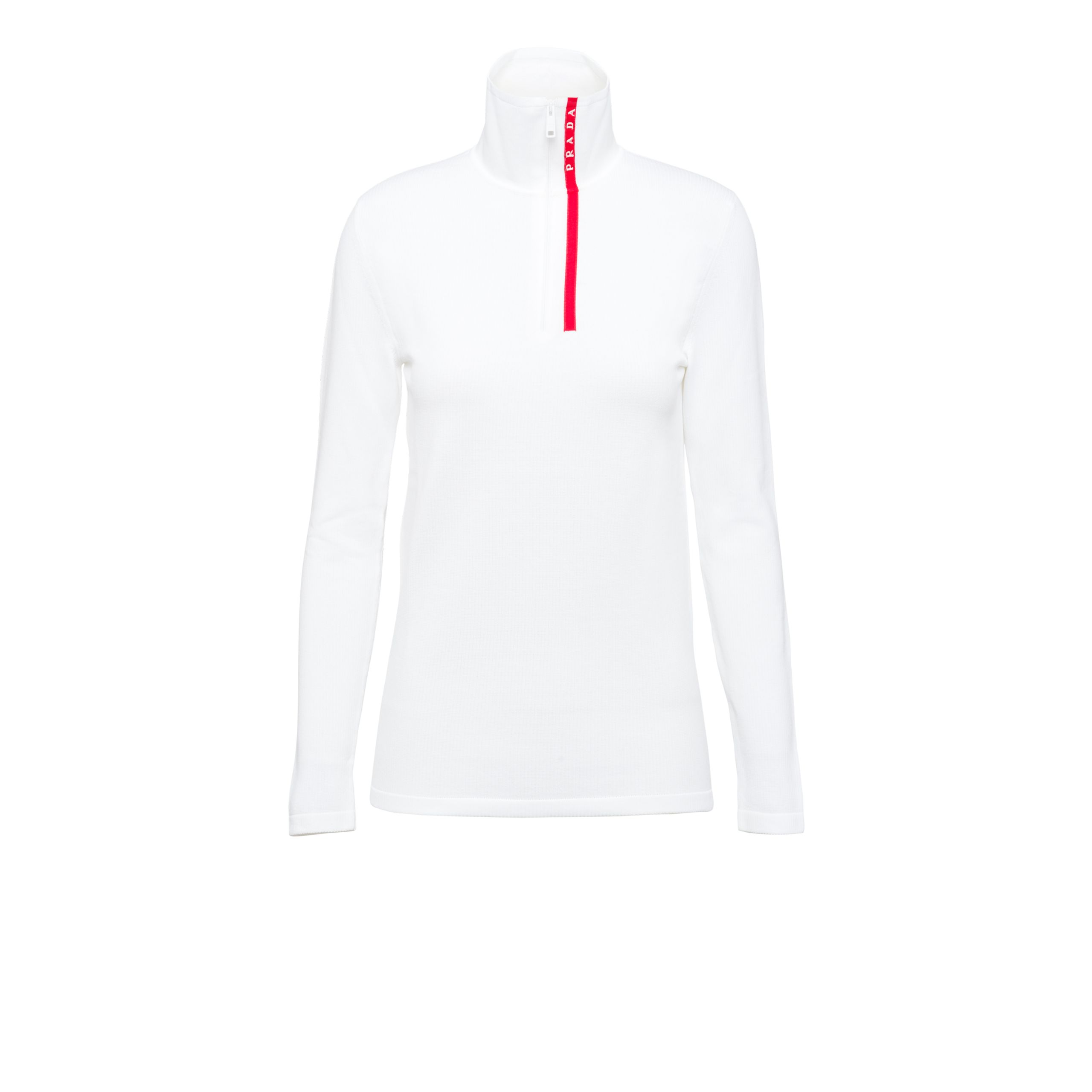 Nylon Turtleneck Sweater by Prada, available on orchardmile.com for $980 Kendall Jenner Top Exact Product