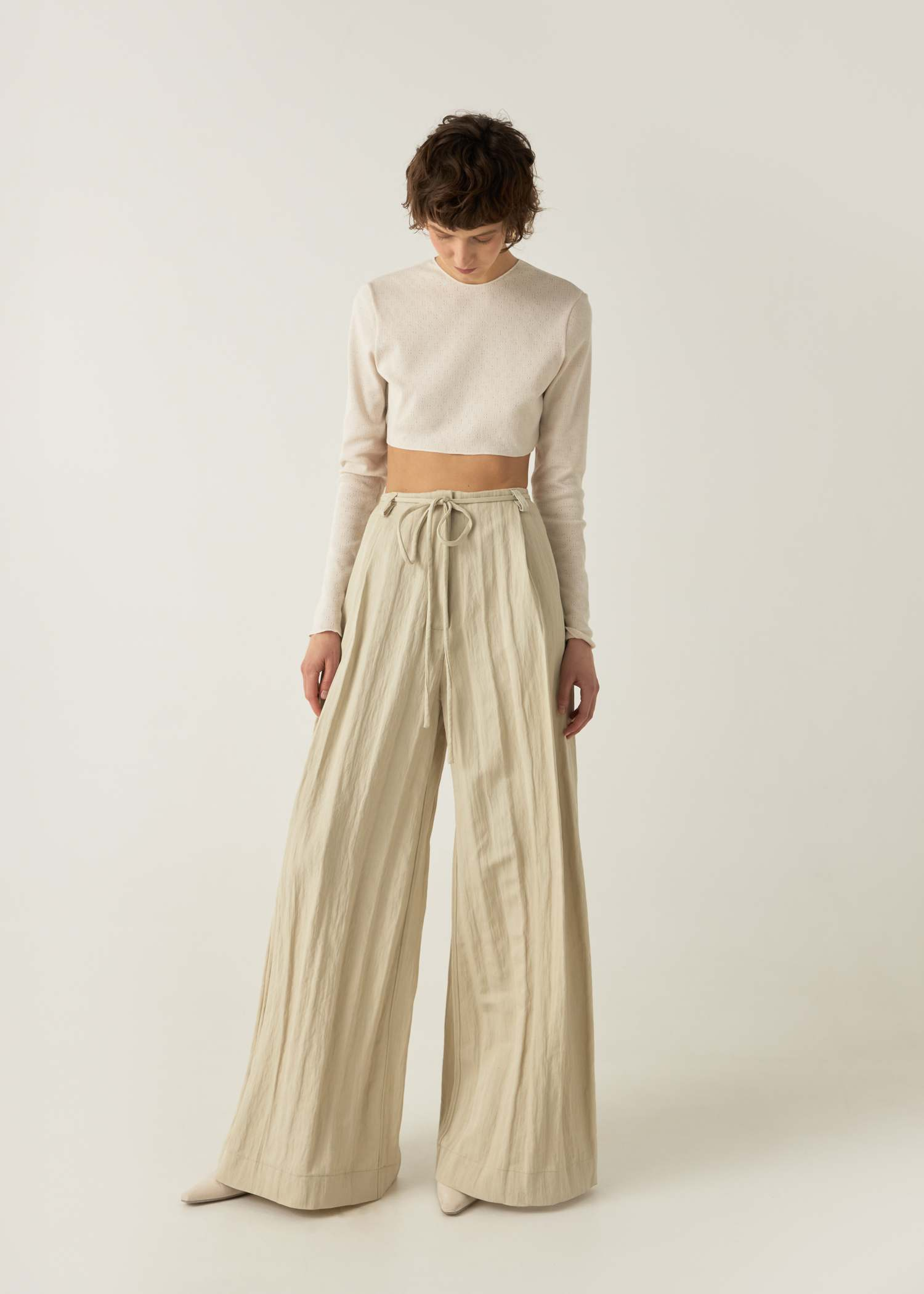 Palazzo trousers by My812, available on my812.ru for $290 Kendall Jenner Pants Exact Product