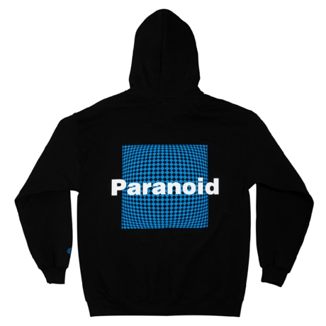 Paranoid Hoodie by Petals and Peacocks, available on petalsandpeacocks.com for $64 Kendall Jenner Top Exact Product