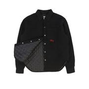 Quilted Flannel Shirt Jacket (Black) by Cherry, available on cherryla.com for $210 Kendall Jenner Outerwear SIMILAR PRODUCT
