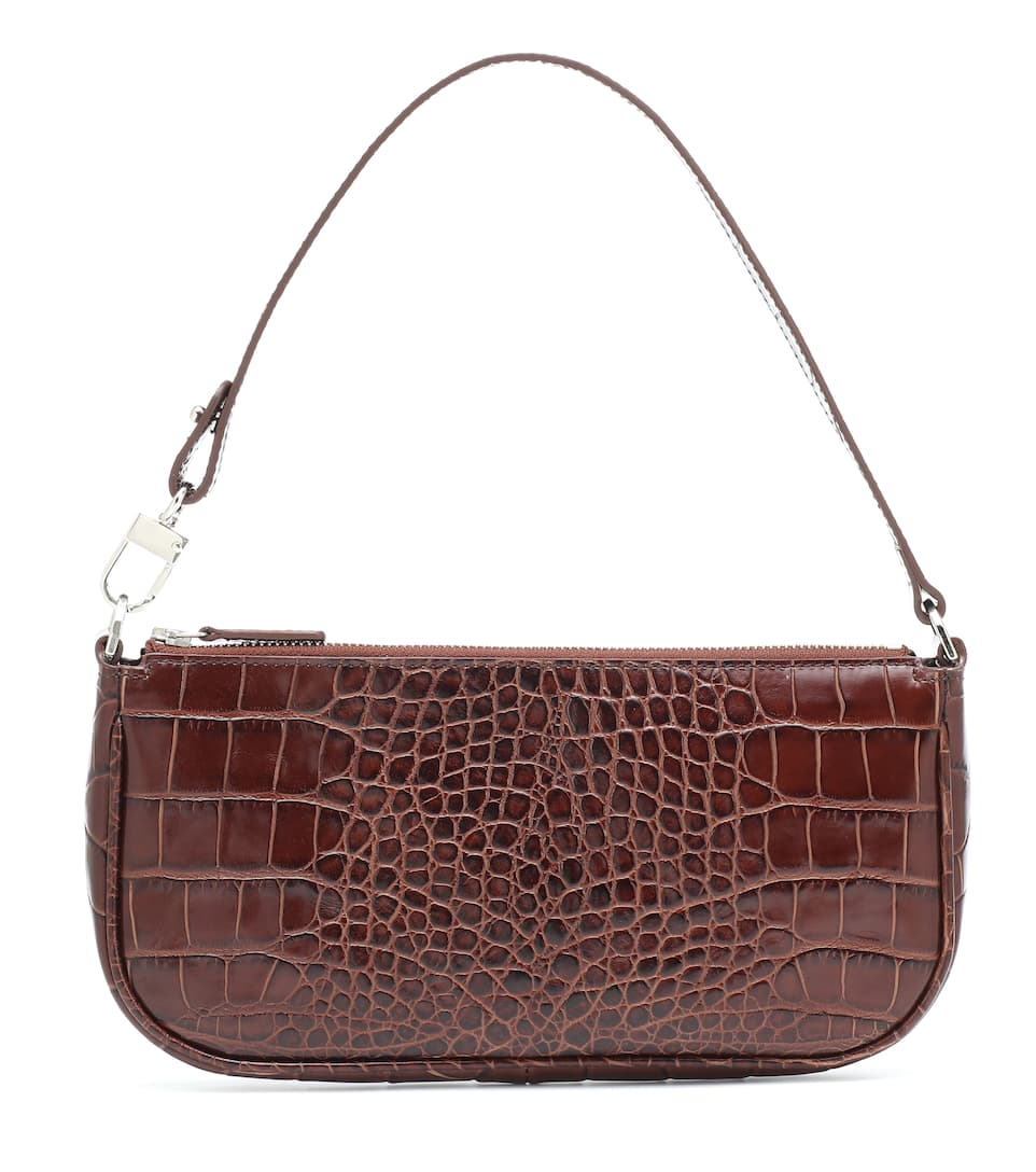 Rachel leather shoulder bag by By Far, available on mytheresa.com for $364 Kendall Jenner Bags Exact Product
