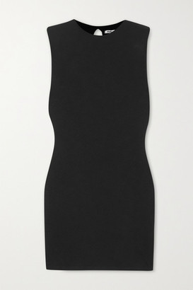 Rumi Stretch-tencel Mini Dress - Black by Reformation, available on shopstyle.com for $128 Kendall Jenner Dress SIMILAR PRODUCT